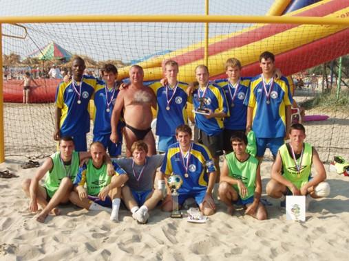 Мэра г батайска по пляжному футболу